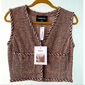 NEW CHANEL tweeted vest
